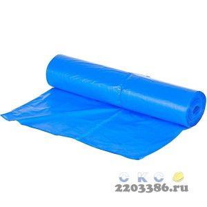 Пакет мусорный ПНД 60л, повышенной прочности (20шт/рул, 30рул/кор) Komfi