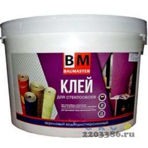 Клей для стеклообоев BAU MASTER 12 кг