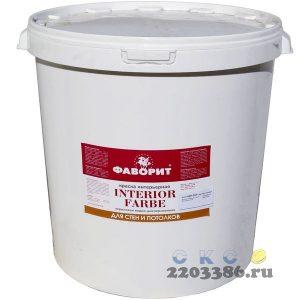 """Краска """"ФАВОРИТ"""" ВДАК 20И-1 для стен и потолков белая (евроведро по 40кг) (акриловая водно-дисперсионная краска, для получения матовых покрытий внутри"""