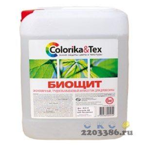 "Антисептик ""Colorika&Tex"" БИОЩИТ 10 кг"
