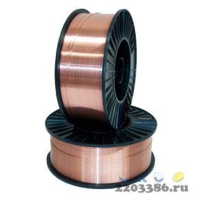 Проволока (торговая марка WS WELDESHIP (D200) 0,8 мм/5 кг