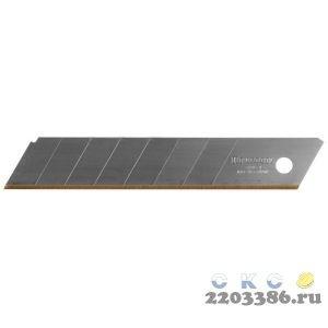 Лезвия сегментированные с покрытием TiN SOLINGEN, ширина 18 мм, 8 сегментов, 5 шт, KRAFTOOL