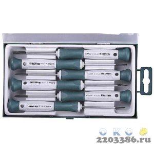 Electronic-Kraft отвертки для точных работ 6 предм., KRAFTOOL