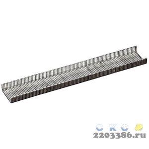 MIRAX 12 мм скобы для степлера тонкие тип 53, 1000 шт