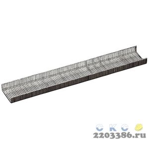 MIRAX 8 мм скобы для степлера тонкие тип 53, 1000 шт