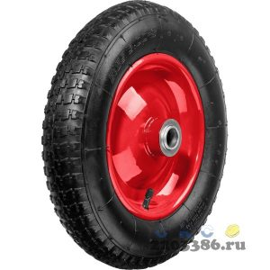 ЗУБР КП-2 колесо пневматическое для тачек 39950, 39952, 360 мм