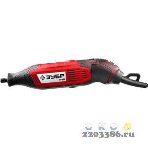 Гравер электрический, ЗУБР ЗГ-135, 220В, 135 Вт, 3.2 мм, 15000-35000 об/мин, базовая модель, в коробке