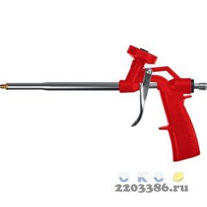 ЗУБР ТУРБО пистолет для монтажной пены, нейлоновый  корпус