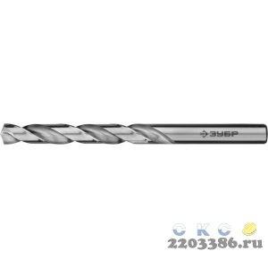 ЗУБР ПРОФ-А 7.5х109мм, Сверло по металлу, сталь Р6М5, класс А