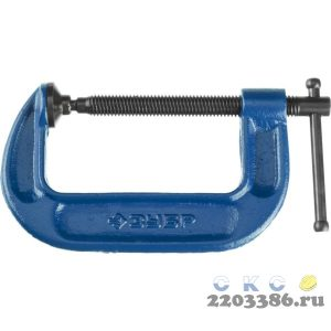 ПСС-100 струбцина тип G 100 мм, ЗУБР