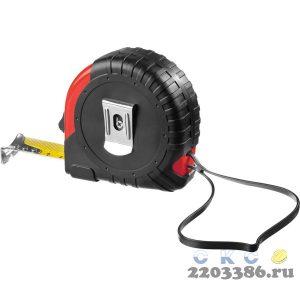 MIRAX Rubber 3м / 18мм рулетка в обрезиненном пластиковом корпусе