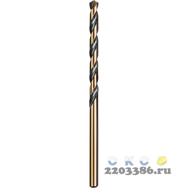 KRAFTOOL COBALT 9.5 х125мм, Сверло по металлу HSS-Co(8%) , сталь М42(S2-10-1-8)