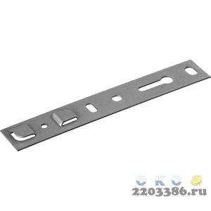Пластина оконная ПО, 150х25 х 1.2 мм для профиля KBE, VEKA 70мм, ЗУБР