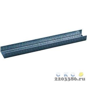 """Скобы RAPID """"PROLINE"""" оцинкованные, тип 140, зелёные, 6мм, 2000шт"""