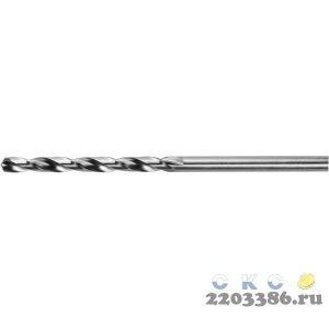KRAFTOOL HSS-M2 3.5х70мм, Сверло по металлу HSS-G, сталь М2(S6-5-2)