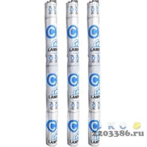 Гидро-пароизоляция универсальная D, шир. 1,5м (60кв.м./рул) повышенной прочности
